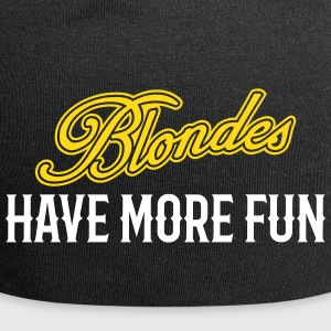 Blondes Have More Fun 2 - Jersey-Beanie