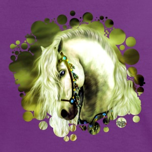 Pony T-Shirts - Frauen Kontrast-T-Shirt