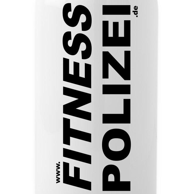 Trinkflasche Fitness Polizei