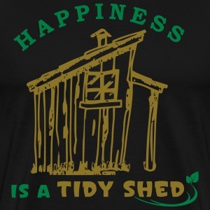 Happy Gardening Allotment Landscaping T-Shirts - Men's Premium T-Shirt