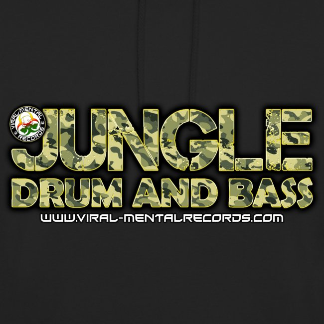 Jungle DrumandBass VMR Hoodie