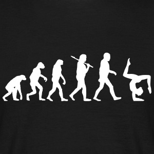 evolution of yoga T-Shirts - Männer T-Shirt