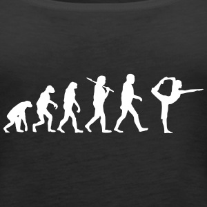 evolution of yoga Tops - Frauen Premium Tank Top