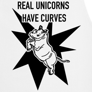 Real Unicorns have Curves! - Kochschürze