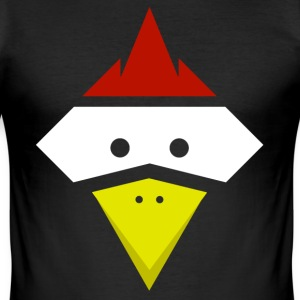 Chicken Shirt - Männer Slim Fit T-Shirt