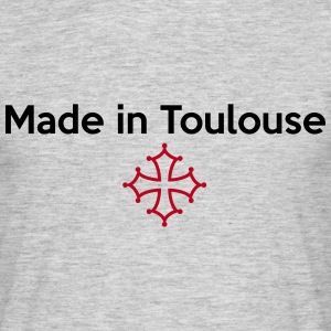 Made in Toulouse - croix occitane Tee shirts - T-shirt Homme