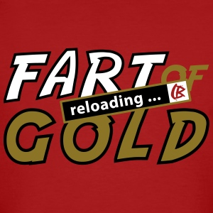 FART OF GOLD T-Shirts - Männer Bio-T-Shirt