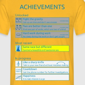Achievements - Männer T-Shirt