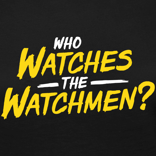 Who watches the watchmen? Langarmshirt Frauen
