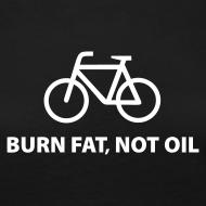 Motiv ~ burn fat, not oil  Langarmshirt Frauen