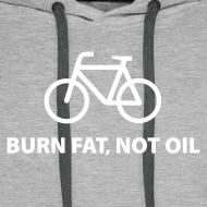 Motiv ~ burn fat, not oil  Hoodie