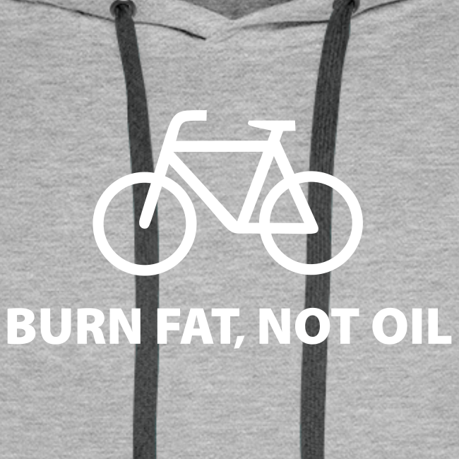 burn fat, not oil  Hoodie