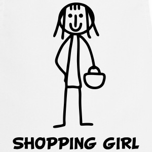 Shopping Girl  Aprons - Cooking Apron
