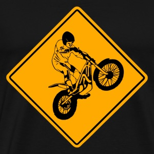 Trial Road Sign T-Shirts - Männer Premium T-Shirt