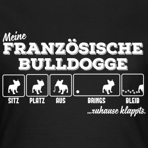 My French Bulldog - home klappts T-Shirts - Women's T-Shirt