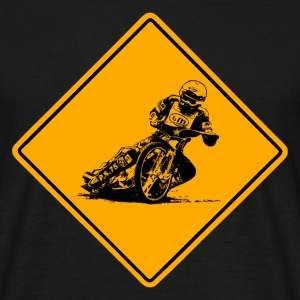 Speedway Road Sign T-Shirts - Men's T-Shirt