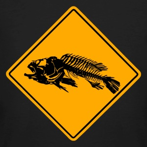 Fish Road Sign T-Shirts - Männer Bio-T-Shirt