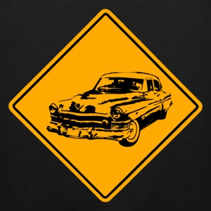 Car Road Sign Sportbekleidung - Männer Premium Tank Top