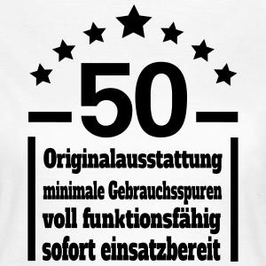 """Geburtstag T-Shirts mit """"Eigenschaften 50 Geburtstag"""""""