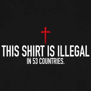 This Shirt Is Illegal Pullover & Hoodies - Männer Pullover