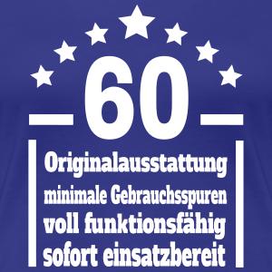 """Geburtstag T-Shirts mit """"Eigenschaften 60. Geburtstag"""""""