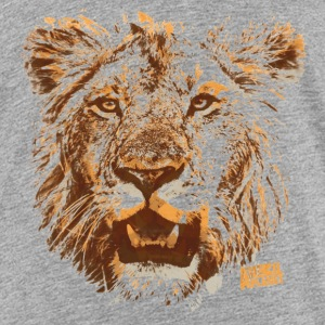 Animal Planet Lion Head Teenager T-Shirt - Teenage Premium T-Shirt
