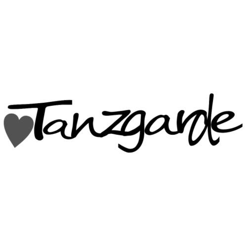 Tanzgarde horizontal black