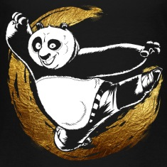 Kung Fu Panda Po Teenager T-Shirt