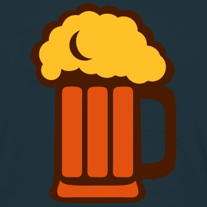 Beer glass foam 2202234 T-Shirts - Men's T-Shirt