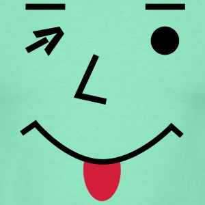 SMILY - Emoticons T-Shirts - Männer T-Shirt