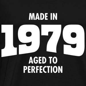 Made In 1979 - Aged To Perfection T-Shirts - Men's Premium T-Shirt