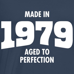 Made In 1979 - Aged To Perfection T-skjorter - Premium T-skjorte for menn