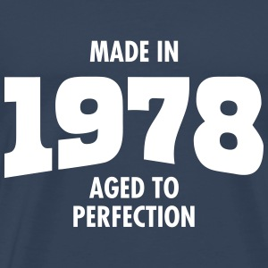 Made In 1978 - Aged To Perfection Camisetas - Camiseta premium hombre