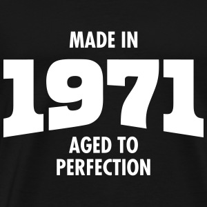 Made In 1971 - Aged To Perfection T-shirts - Mannen Premium T-shirt