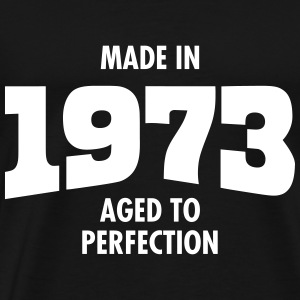 Made In 1973 - Aged To Perfection T-skjorter - Premium T-skjorte for menn