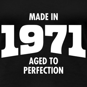 Made In 1971 - Aged To Perfection T-Shirts - Women's Premium T-Shirt