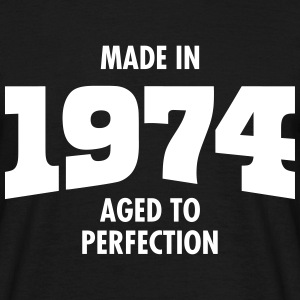 Made In 1974 - Aged To Perfection Camisetas - Camiseta hombre