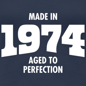 Made In 1974 - Aged To Perfection Camisetas - Camiseta premium mujer