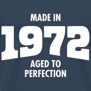 Made In 1972 - Aged To Perfection T-shirts - Mannen Premium T-shirt