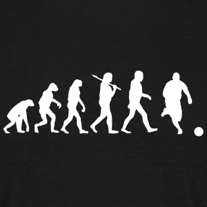 Evolution of Fussball T-Shirts - Männer T-Shirt