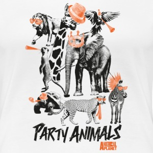 Animal Planet Party Animals Women T-Shirt - Women's Premium T-Shirt