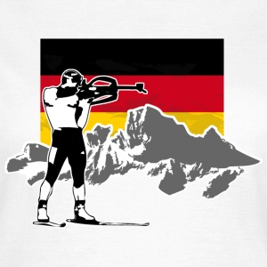 Biathlon - Germany Flag T-Shirts - Frauen T-Shirt