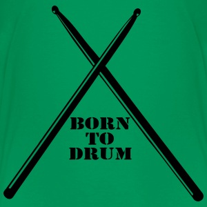 Born to Drum T-Shirts - Teenager Premium T-Shirt