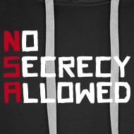 Motiv ~ NSA - No Secrecy Allowed  Hoodie