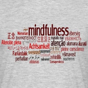 Mindfulness World T-Shirt - Men's T-Shirt