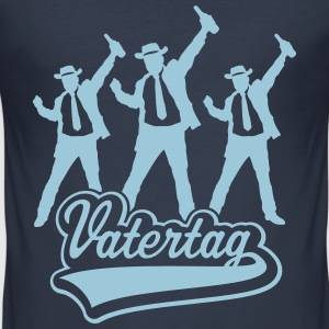 Vatertag Cowboys T-Shirts - Männer Slim Fit T-Shirt