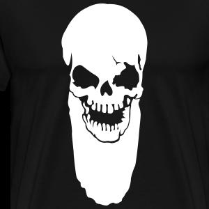 Totenschädel mit Bart