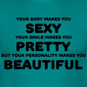 Your body makes you sexy T-shirts - Mannen T-shirt
