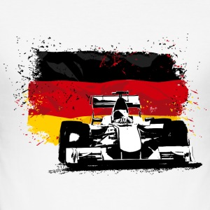 Formula One -  German Flag T-Shirts - Männer Slim Fit T-Shirt