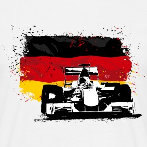 Formula One -  German Flag T-Shirts - Männer T-Shirt